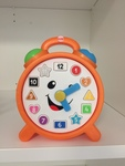 BBY004: Orange Clock - FisherPrice