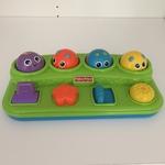 BBY008: Green Pop-Up Toy - FisherPrice