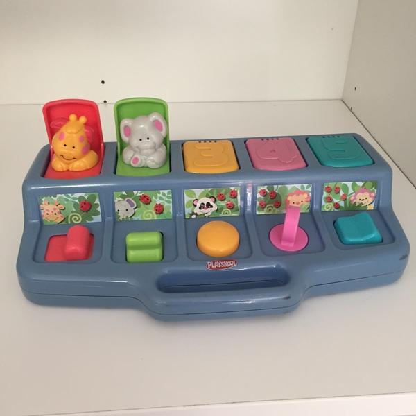 BBY009: Animal Pop-Up Toy (PlaySkool)