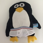 BBY019: Penguin in Undies Soft Toy