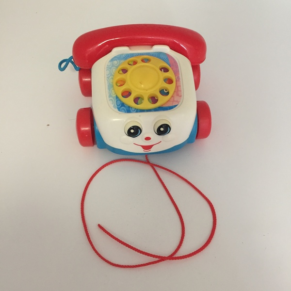 BBY024: Pull-Along Telephone Toy
