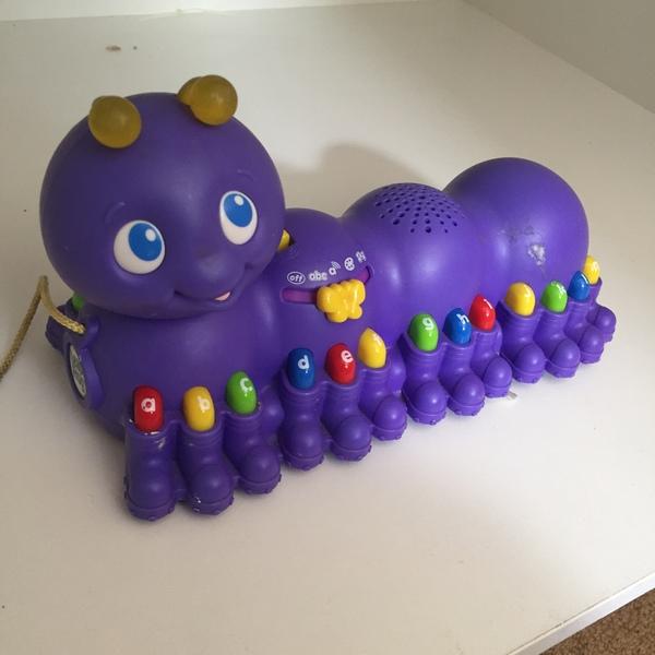 BBY028: Purple Musical Caterpillar