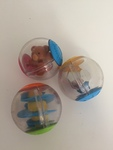 BBY034: Rattle Balls - set of 3