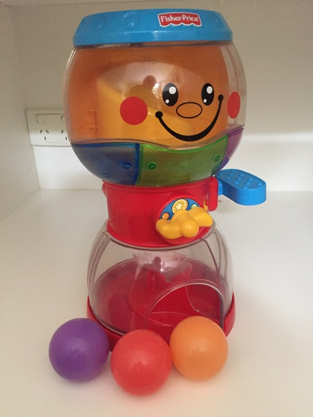 BBY039: Ball Drop Toy - FisherPrice