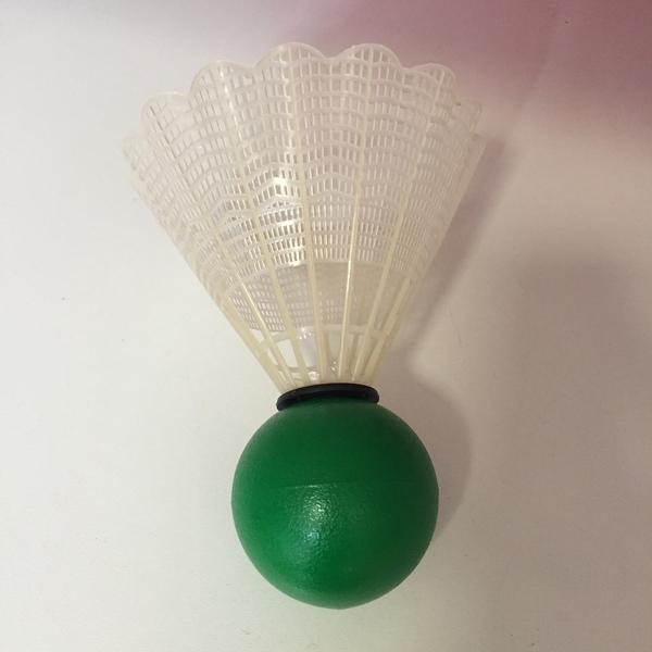 G032: Green Shuttlecock