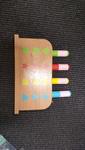 F153: Wooden Pop up Toy