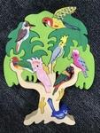 178: Wooden Bird Tree