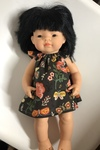 157: Asian girl mini land doll