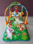 429: Musical Baby Play Mat - Forest Friends