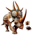 615: Rubeosaurus shaped Giant Floor Puzzle
