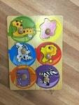 760: Jungle animal puzzle
