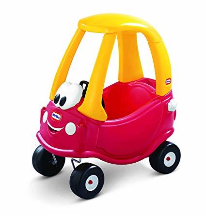 1337: Red Cozy Coupe Car