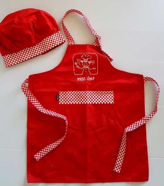 82: Red Chef Costume