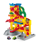 91: Fisher Price Wheelies Stand n Play Car Ramp Tower #A