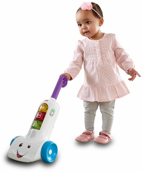 154: Fisher Price Smart Stages Vacuum Cleaner