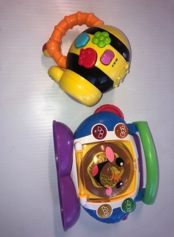 182: Interactive Bee and CD Player