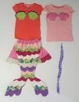 470: Mermaid Costume Size 5-7