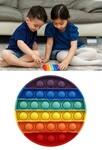 1227: Circle Rainbow Pop It Fidget Toy