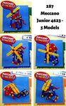 287: Meccano Junior 4623 - 5 Models