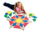 1005: Giant Foam Floor Size - Pattern Blocks