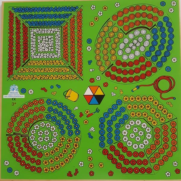 "499: Geometric Flower Bed Puzzles ""TASTI II"