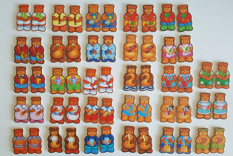 1033: TEDDY BEAR Match a Pair Memory Game
