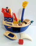 342: Little Tikes Mighty Voyager Pirate Ship