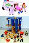 942: Voila' Wooden Clinic/Hospital  #A
