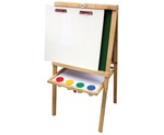 1164: JOLLY KIDZ 5-IN-1 WOOD EASEL