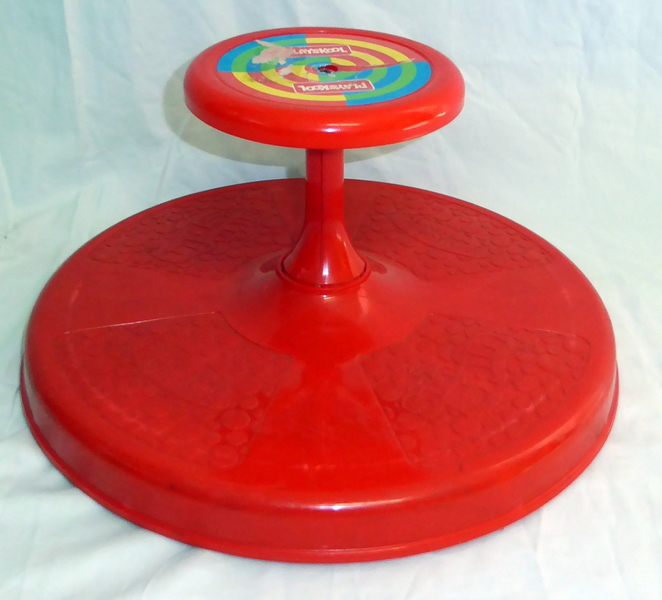 1221: PLAYSKOOL SIT'N' SPIN