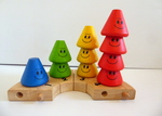 1282: Counting Friends Wooden Stacking Blocks