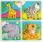 740: MY FIRST PUZZLES - ZOO ANIMALS