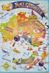 1044: Map Of Australia Jig Saw Puzzle