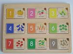1319: Counting Vegetables Wooden Puzzle