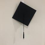 G152: Black Graduation Hat Costume