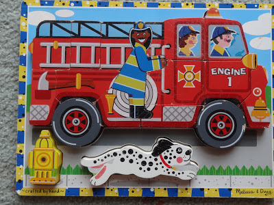 A19: Fire Truck Chunky Puzzle