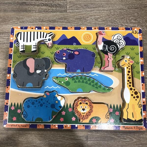 A34: Safari Chunky Puzzle