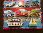 A41: Vehicles Chunky Puzzles