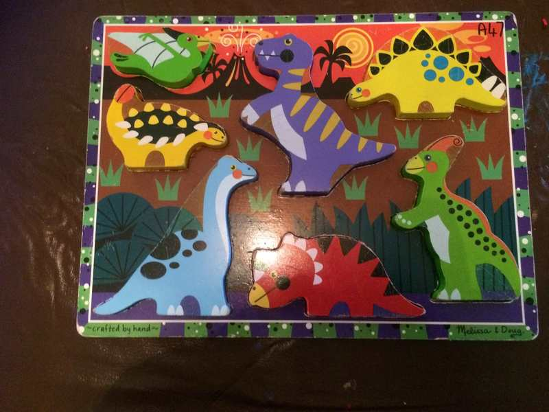 A47: Dinosaurs Chunky Puzzles