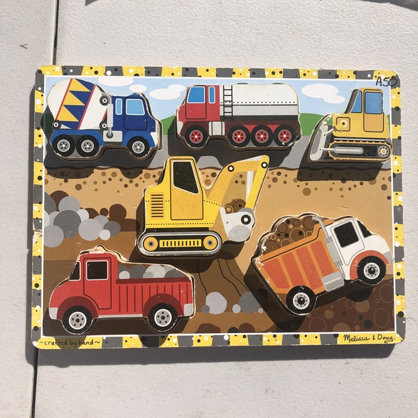 A50: Construction Chunky Puzzles