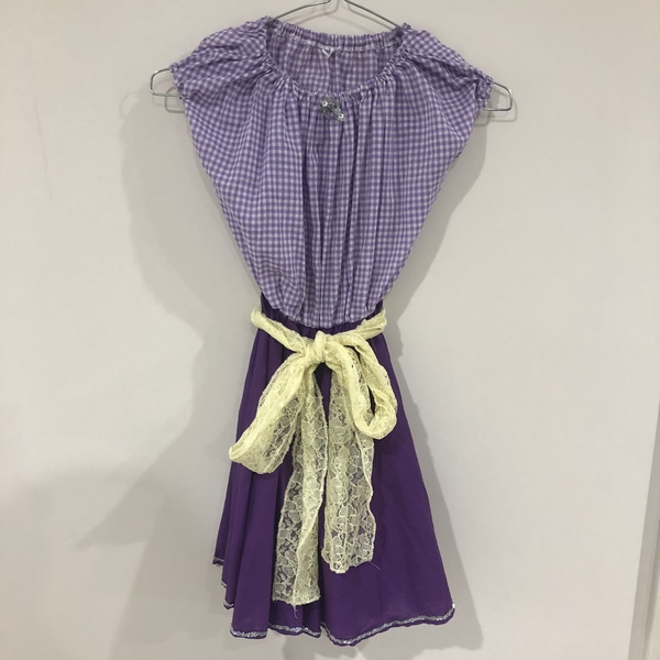 G124: Purple Square Dance Costumes
