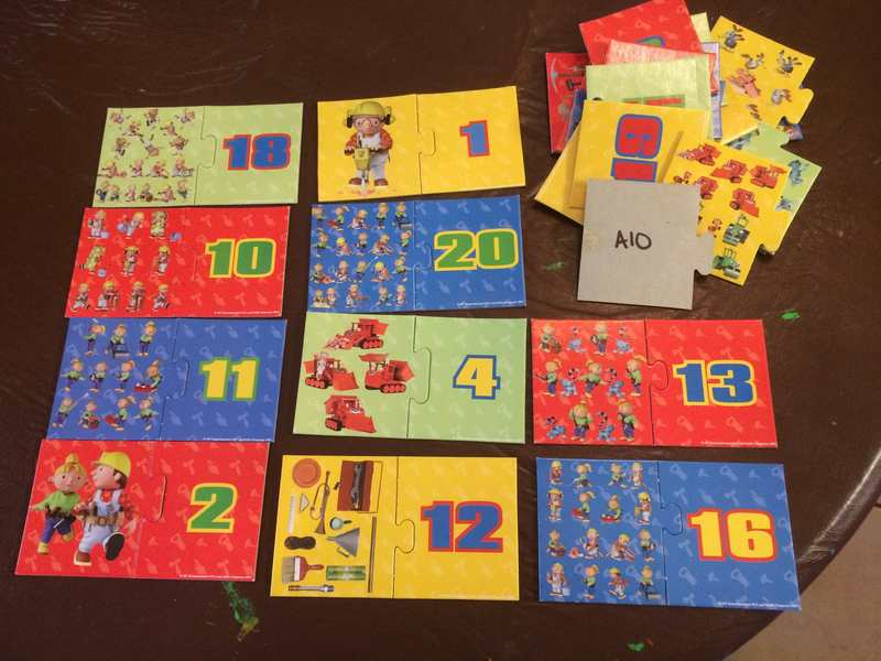 A10: Bob The Builder Matching Numbers