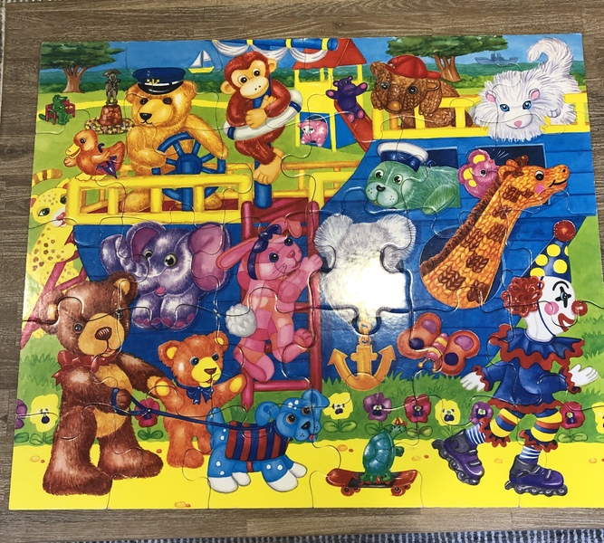 A59: Giant Floor Puzzle ~ Toys Day Out