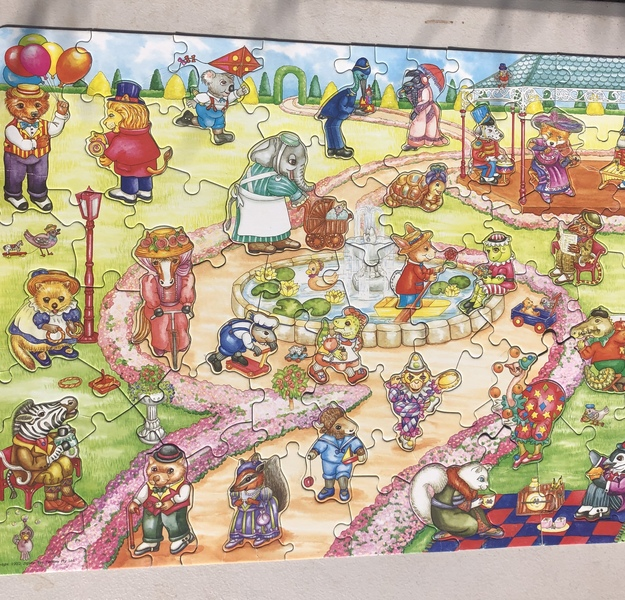 A84: Giant Floor Puzzle ~ Park Friends