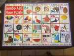 A33: Jumbo Floor Puzzle ~ ABC