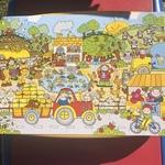 A93: Jumbo Floor Puzzle ~ Busy Farm