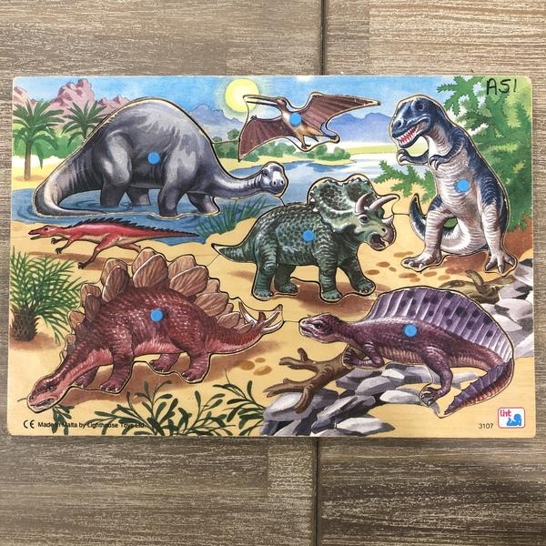 A51: Dinosaur Peg Puzzle