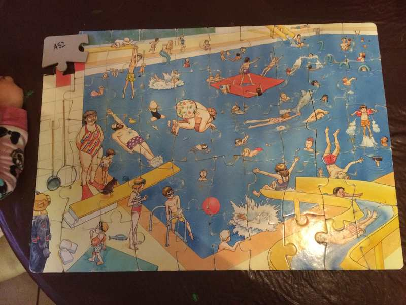 A52: Swimming Pool Puzzle