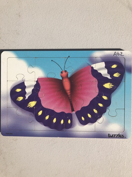 A62: Insect Puzzles: Butterfly