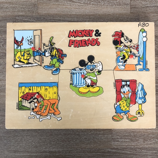 A80: Mickey and Friends Puzzle